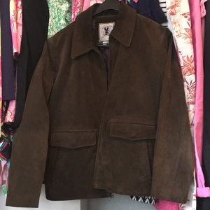 Other - American Classics Brown Suede Jacket Lined  Sz M